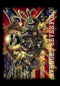 AVENGED SEVENFOLD CONFEDERATE FABRIC POSTER