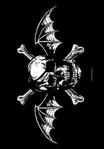 AVENGED SEVENFOLD DEATH BAT FABRIC POSTER