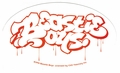 BEASTIE BOYS OLD SCHOOL LOGO OVAL STICKER