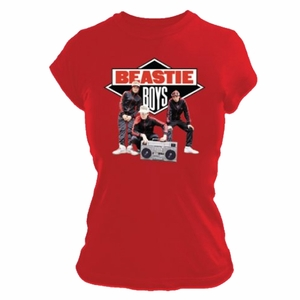 BEASTIE BOYS SOLID GOLD WOMEN'S TISSUE T-SHIRT