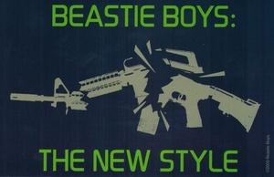 BEASTIE BOYS THE NEW STYLE STICKER