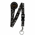 BLACK LABEL SOCIETY DISTURBED LOGO KEYCHAIN HOLDER