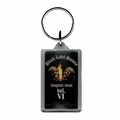 BLACK LABEL SOCIETY HANGOVER MUSIC VOL VI LUCITE RECTANGLE KEYCHAIN