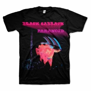 BLACK SABBATH PARANOID MOTION TRAILS MEN'S T-SHIRT