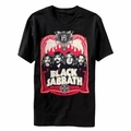 BLACK SABBATH RED FLAMES MEN'S T-SHIRT