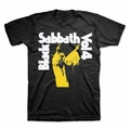 BLACK SABBATH VOL. 4 YELLOW MEN'S T-SHIRT