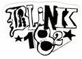 BLINK-182 WHITE LOGO STICKER