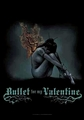 BULLET FOR MY VALENTINE BURNING WINGS FABRIC POSTER