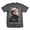 DAVID BOWIE LOW PROFILE MEN'S T-SHIRT