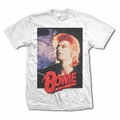 DAVID BOWIE RETRO BOWIE MEN'S T-SHIRT