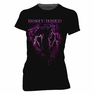 DISTRURBED FEAR THE REAPER WOMEN'S T-SHIRT