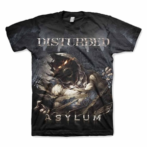 DISTURBED GLOOMY NIGHT MEN'S T-SHIRT