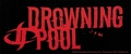 DROWNING POOL LOGO STICKER