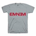EMINEM GRAY NEW LOGO MEN'S T-SHIRT