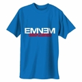 EMINEM ROYAL BLUE WITH BERZERK & NEW LOGO MEN'S T-SHIRT