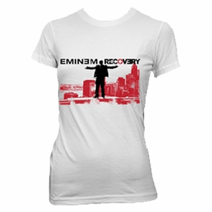 EMINEM TOP OF THE WORLD WOMEN'S T-SHIRT
