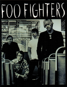 FOO FIGHTERS BAND MEMBERS STICKER