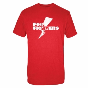 FOO FIGHTERS LIGHTNING BOLT MEN'S T-SHIRT