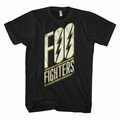 FOO FIGHTERS SLANTED LOGO SLIM FIT MEN'S T-SHIRT
