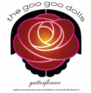 GOO GOO DOLLS GUTTERFLOWER STICKER