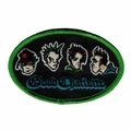 GOOD CHARLOTTE BAND FACES EMBROIDERED PATCH