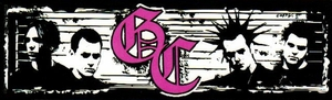 GOOD CHARLOTTE BAND LOGO STICKER