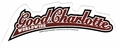 GOOD CHARLOTTE BASEBALL LOGO STICKER