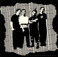GOOD CHARLOTTE BLACK AND WHITE RIPPED STICKER