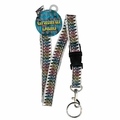 GRATEFUL DEAD DANCING SKELETON LANYARD KEYCHAIN HOLDER