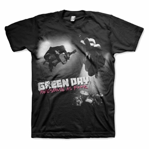 GREEN DAY AWESOME AS F**K MEN'S T-SHIRT