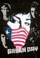 GREEN DAY COLLAGE FABRIC POSTER
