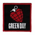 GREEN DAY GRENADE EMBROIDERED PATCH