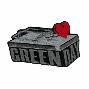 GREEN DAY MOUSETRAP LOGO EMBROIDERED PATCH