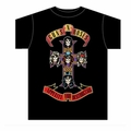 GUNS N ROSES APPETITE FOR DESTRUCTION CROSS MEN'S T-SHIRT