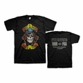 GUNS N ROSES APPETITE TOUR 1988 MEN'S T-SHIRT