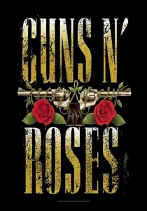 GUNS N ROSES BIG GUNS FABRIC POSTER