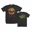 GUNS N ROSES BLOODY BULLET PREMIUM COTTON MEN'S T-SHIRT