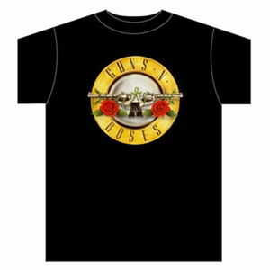 GUNS N ROSES BULLET LOGO MEN'S T-SHIRT
