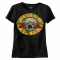 GUNS N ROSES DISTRESSED BULLET PREMIUM COTTON MEN'S T-SHIRT
