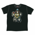 GUNS N ROSES HEADS VINTAGE MEN'S T-SHIRT