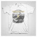 IMAGINE DRAGONS FLAME WHITE MEN'S T-SHIRT