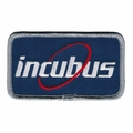 INCUBUS BLUE CIRCLE EMBROIDERED PATCH