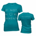 INCUBUS LOVE NOW WOMEN'S T-SHIRT