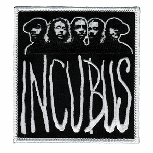 INCUBUS PHOTO WITH LOGO EMBROIDERED PATCH