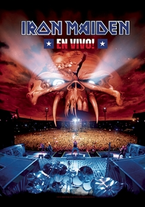 IRON MAIDEN EN VIVO FABRIC POSTER