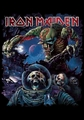 IRON MAIDEN FRONTIERS ALBUM COVER FABRIC POSTER