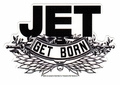 JET GET BORN STICKER