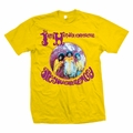 JIMI HENDRIX EXPERIENCE YELLOW MEN'S T-SHIRT