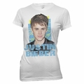 JUSTIN BIEBER CRISS CROSS WOMEN'S T-SHIRT