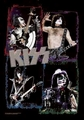 KISS FRAMES FABRIC POSTER